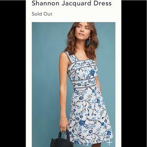 New XL Anthropologie Maeve Shannon Jacquard Dress